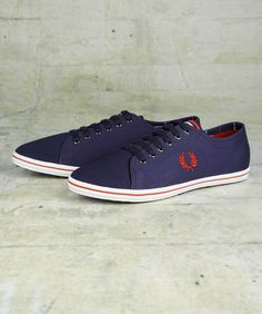 Fred Perry - kingston twill tipped - carbon blue