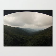 Craggy Gardens - NC Stretched Canvas by Grandmachismo - $85.00