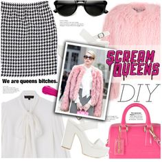 How To Wear DIY Scream Queens' Chanel #1 Outfit Idea 2017 - Fashion Trends Ready To Wear For Plus Size, Curvy Women Over 20, 30, 40, 50