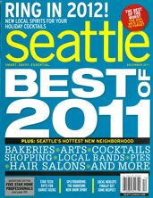 Identified as the best new salon in Seattle in 2011, Adele Salon 4224 (A) Freemont Avenue N. 206-522-5245 (see second page of magazine)