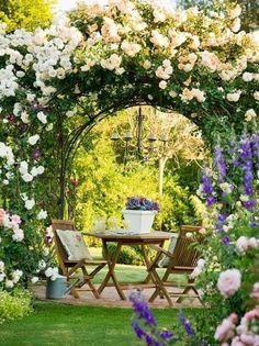 Wauw! #terras #tuin #bloemen
