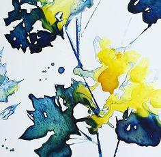 Ink on Paper by Megan Swartz Montage Art, Go Create, Make Me Smile, Paper Art, Ink, Papercraft