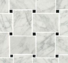 http://www.mandarinstone.com/product/_/841/carrara-honed-marble-mosaic/?cid=13#.U9rDgSx0zZY