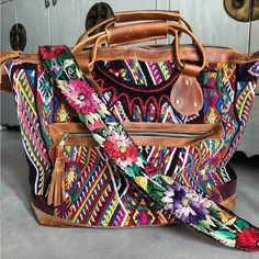 84dc9f7a281f Mayan Huipil Bag. Embellished PursesYoga BagTapestry BagBoho ...