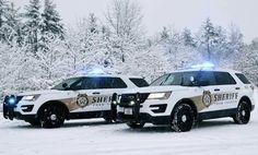 York County Sheriff's department Interceptor Utility