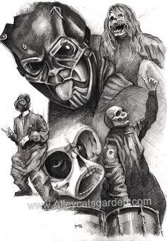 Slipknot Sid Wilson by Alleycatsgarden on DeviantArt