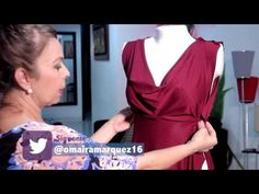 In this video tutorial, I will . Crochet Baby, Crochet Top, Diy Vestido, Sewing Online, Sewing Lessons, Dress Sewing Patterns, Sewing For Beginners, Fashion Sewing, Collar Dress