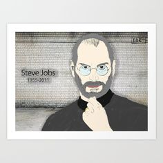 Steve jobs Available on sale at @society6