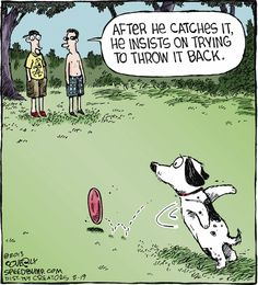 Speed Bump on GoComics.com #dogs #humor #comics