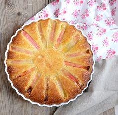 Gâteau à la rhubarbe, aux amandes et aux amaretti - Et si c'était bon...