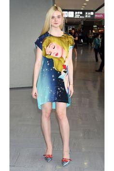 A Royal Wardrobe: Elle Fanning's Sleeping Beauty Style