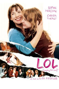LOL (Laughing Out Loud) Movie Poster - Sophie Marceau, Christa Théret, Jocelyn Quivrin  #LaughingOutLoud, #MoviePoster, #Comedy, #LisaAzuelos, #ChristaTh, #JocelynQuivrin, #Poster, #SophieMarceau