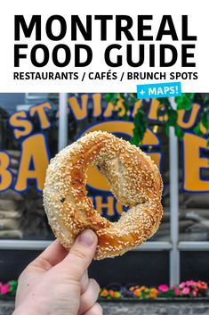 Montreal Food Guide - Where to eat in Montreal: Brunch spots, the best local restaurants, and great cafés. Organized by - Montreal Food, Montreal Canada, Montreal Quebec, Canadian Food, Canadian Rockies, Pub Food, Brunch Spots, Visit Canada, Lokal