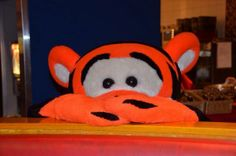 #Disneyland Paris. Tigger in the Cafe Mickey Restaurant in Disney Village #DLP #DLRP #Disney