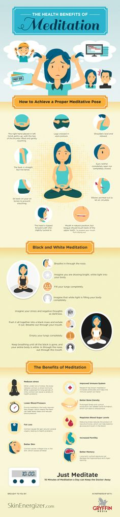 The Health Benefits of Meditation Great way for starters, as myself, to lean how to  meditate