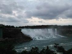When i went to Niagara Falls, Canada
