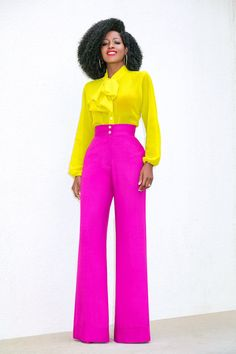 25 Color Block Outfit Ideas for the Sassy Lady Fashion Tips For Women, Womens Fashion, Color Blocking Outfits, Office Looks, Classy And Fabulous, Work Attire, African Dress, Colorful Fashion, Chic Outfits