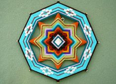 Click on photo for instructions on How-Tuesday: Weaving a Complex Ojo de Dios on Etsy