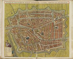 LEIDEN. Atlas De Wit.
