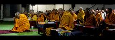 """""""Approaching enlightenment is a gradual process, but once you attain it, there's no going back; when you reach the fully awakened state of mind, the moment you experience that, you remain enlightened forever. Buddhist Wisdom, Tibetan Buddhism, Lama Zopa Rinpoche, Dalai Lama, Karma, Wander, Beautiful People, Buddha, Zen"""