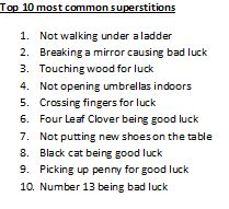 1000 Images About Superstitions Customs Wtf On Pinterest