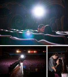 Fox Theatre Engagement Session by The Yodsukars {Photographic & Cinematic} on BorrowedandBleu.com