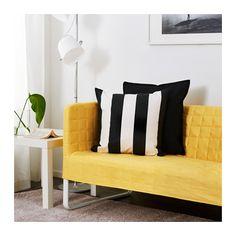 KNOPPARP 2-sits soffa - klargul - IKEA