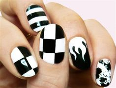 Best Black Nail Art Designs 2016 | Fashion Te