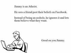 Good on ya, Jimmy!