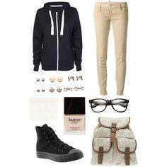 Uniform for school (((ew))) I'm *trying* to make it cute