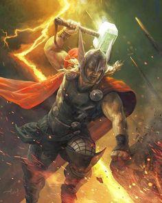 Thor by Aleksi Briclot