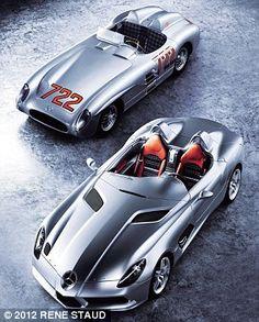 Original Merc 722 and the ltd edition MercMcLaren Stirling Moss