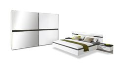 bahia bettanlage mit paneelaufsatz polarwei galerie nolte m bel nolte schlafzimmer. Black Bedroom Furniture Sets. Home Design Ideas