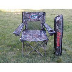 Florida Gators NCAA Ultimate Real Tree Camo Adult Tailgate Chair