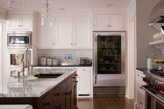 Kitchen | RSM Interiors. Juliska pendant light