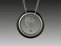 industrial debris necklace