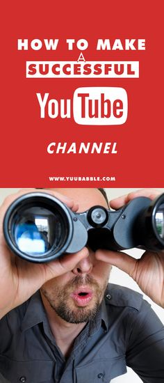 How to Make a Successful YouTube Channel in 2015? You follow these tips and i will guarantee you get success. Do you want your videos to be popular? That is possible. Learn here http://www.yuubabble.com/threads/how-to-make-a-successful-youtube-channel-success-guaranteed.3622/ #Youtube #Tutorial