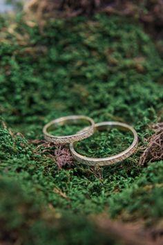 wedding rings - photo by Lisa Digiglio http://ruffledblog.com/intimate-italian-garden-wedding-inspiration