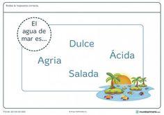 Ficha del mar para primaria