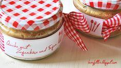 Herzfutter   Food-Blog : Post aus meiner Küche: Quiche mit Ziegenkäse und Feigen im Glas