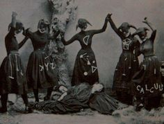 Occult ladies having a party