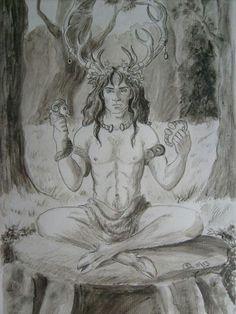 ☽O☾ The Goddess Within - pagan novel by Iva Kenaz - moods ☽O☾  Cernunnos