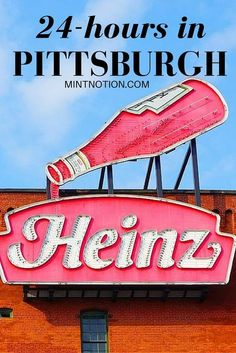 Hours In Pittsburgh: What To See And Where To Eat in Pittsburgh Pennsylvania. Discover the best things to do and where to in Pittsburgh Pennsylvania. Discover the best things to do and where to eat! Weekend Trips, Weekend Getaways, Day Trips, Long Weekend, Visit Pittsburgh, Pittsburgh Food, Pittsburgh Attractions, Pittsburgh Skyline, Oh The Places You'll Go