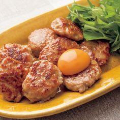 レタスクラブの簡単料理レシピ ふんわりつくねは、おつまみにもおすすめ「梅風味つくね」のレシピです。
