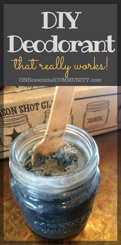 I've finally found a DIY natural deodorant that really works! Thanks to…
