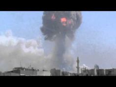 Raw video: Blasts Rock Syrian Weapons Depot