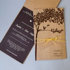Convite de Casamento no Campo - Rústico