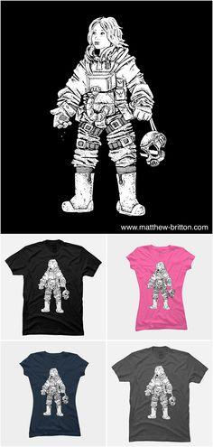 Astronaut Girl - http://matthew-britton.com
