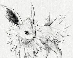 Pokémon Eeveelutions set of nine prints by RockyHammerEtsy