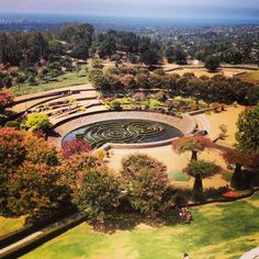 The Getty Centre garden